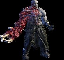 Tyrant original pose resident evil 2 remake mutado