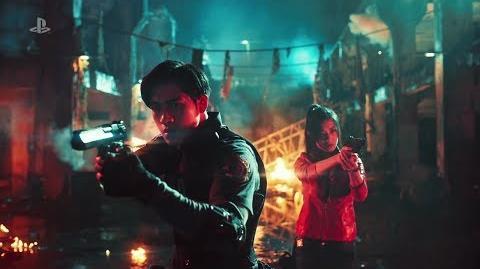 Resident Evil 2 Remake - Pub Live Playstation Taïwan