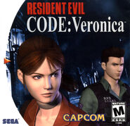 Resident Evil Code Veronica FRONT123456