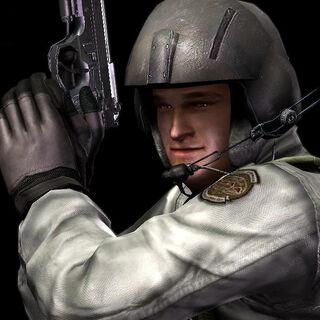 Кирк с оружием