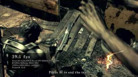 Resident Evil 5 PC Benchmark