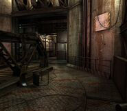 Arklay factory - Laboratory passage background 5