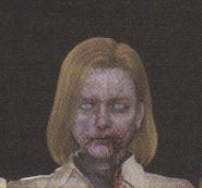 Degeneration Zombie face model 53