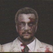 Degeneration Zombie face model 43