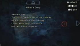 Diario de Alfred