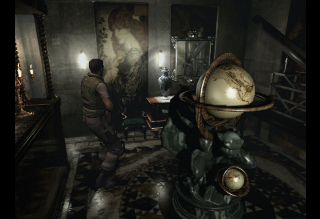 Resident Evil Art Room Painting