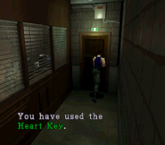 RE2 Heart Key usage