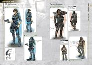 Resident Evil Revelations Artbook - page 3