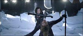 Alice & Jill fighting