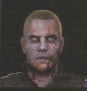 Degeneration Zombie face model 2
