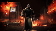 Mr. X Operation Raccoon City Appearance