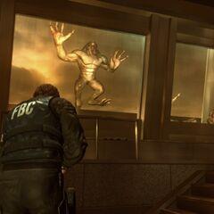 Нападение Хантеров на здание