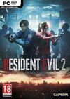 RE2 remake PC cover
