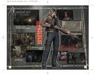 Resident Evil 4 Wii Edition Instruction Booklet 5