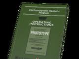 Weapon Spec Sheet