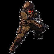 BIOHAZARD Clan Master - HUNK 03