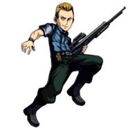 BIOHAZARD Clan Master - Character animation - Edward 3