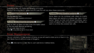 Resident Evil HD Remaster manual - PS4 english, page7