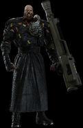 Nemesis RE3 Remake render
