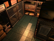 Resident Evil 3 background - Uptown - warehouse g - R1010D
