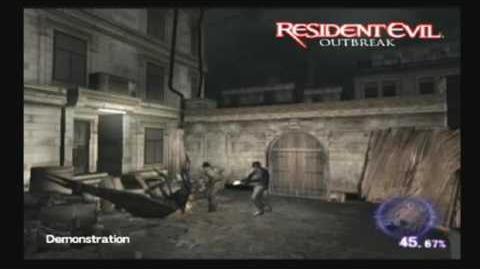 Gameplay demo 1 (Resident Evil Outbreak cutscene)
