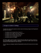 Resident Evil 6 Online Manual PS4 4