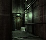 Arklay factory - Laboratory passage background 2