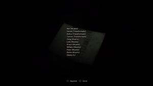 Lista de nombres