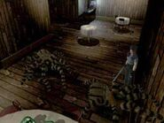 Resident Evil 1 Web spinner