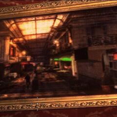 Картина, на которой изображена прогулочная палуба