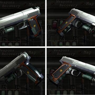 Handgun Resident Evil Wiki Fandom