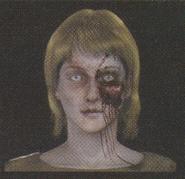 Degeneration Zombie face model 54