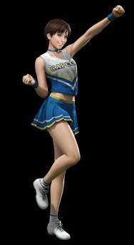 Rebecca Cheerleader