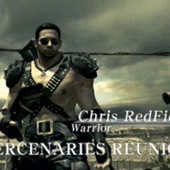 Chris Warrior Costume in Mercenaries Reunion