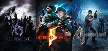 Resident Evil 4 5 6 compilation