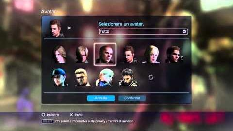 Resident Evil 6 Collector's editions theme and avatars