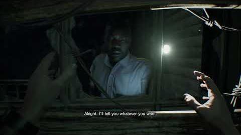 Resident Evil 7 biohazard all scenes - Conversation with deputy