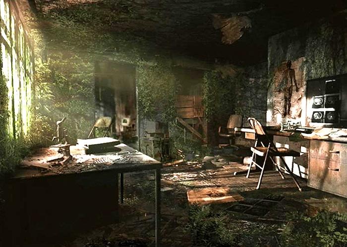 Examination Room Abandoned Hospital