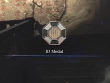 Neo-Umbrella's ID Medal