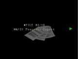 MA-121 Rapport d'enquête