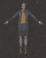 Degeneration Zombie body model 44