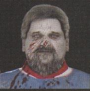 Degeneration Zombie face model 32