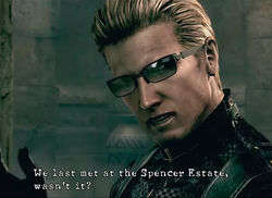 One Click Question - No.7 How many minutes did Wesker have to spare for Chris?
