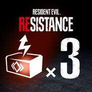RESIDENT EVIL RESISTANCE - Pack de RP Boosters