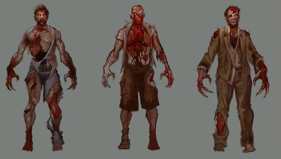 crimson heads trong resident evil 2 remake