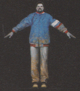 Degeneration Zombie body model 40