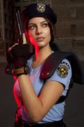 Julia Voth as Jill Valentine 12