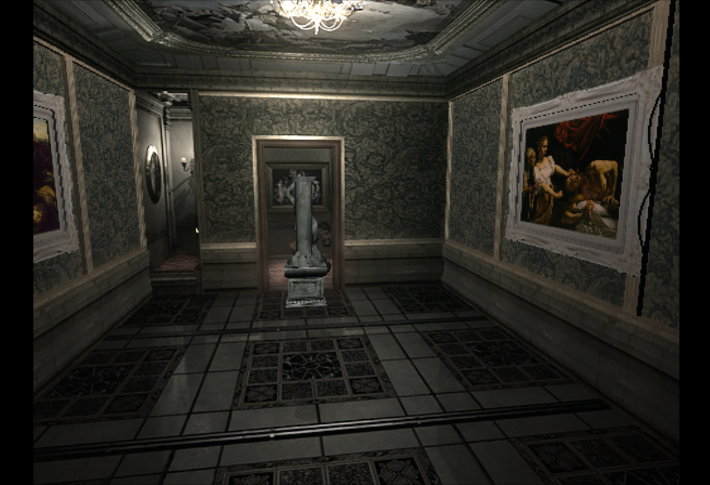 resident evil 1 mansion key puzzle