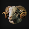 RE2 Remake Accessory Sheep Icon