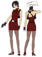 Ada casual outfit BIO4 artwork